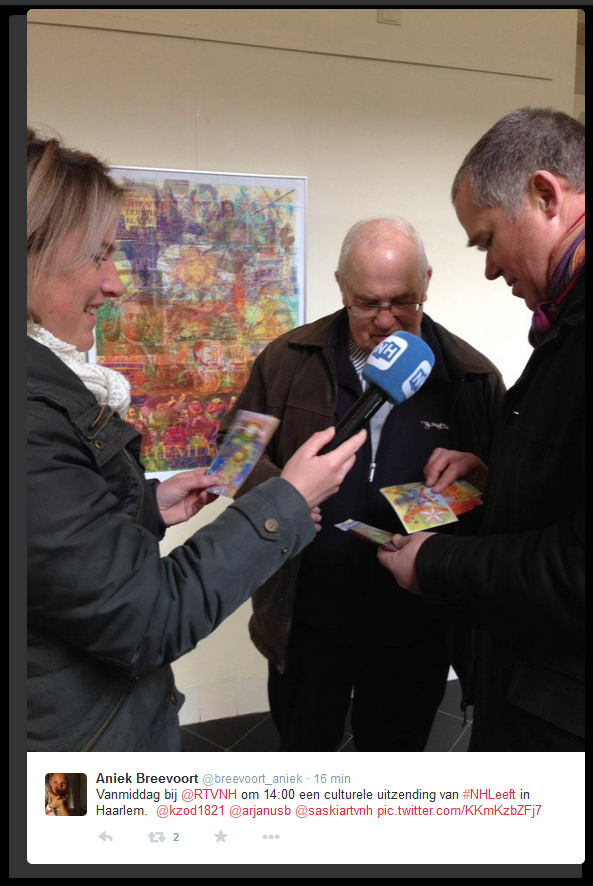 RTVNH interviewt Arjan Bosch