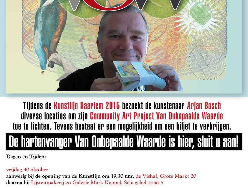Programma Van Onbepaalde Waarde Kunstlijn 2015
