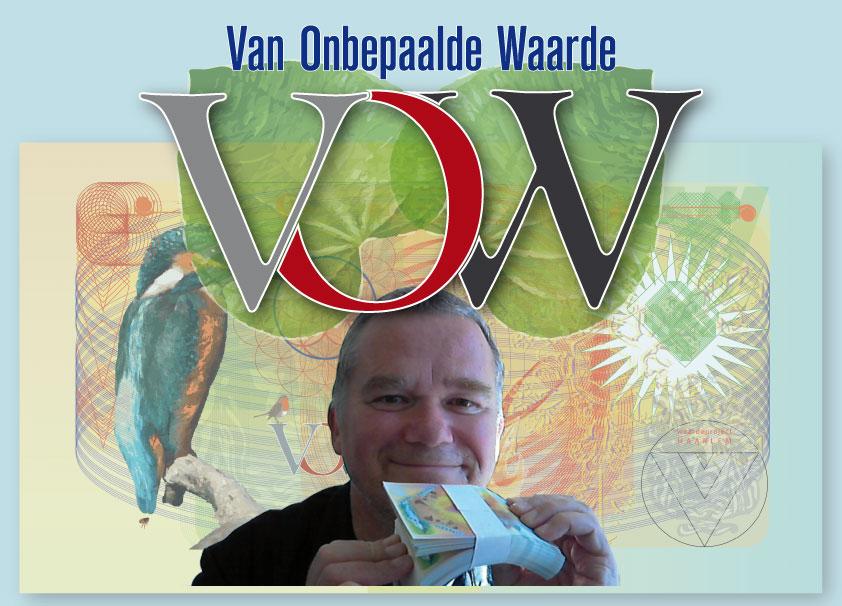 presentatie biljetten Van Onbepaalde Waarde bij boekhandel de Vries